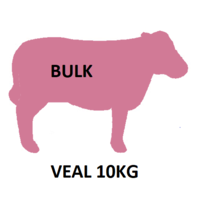 Veal - Coarsely Minced 10KG Pack