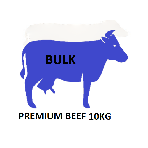 Premium Beef - Coarsely Minced or Diced 10KG